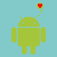 ANDROID Android-Love T-Shirt