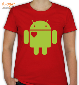 Android Lover - T-Shirt [F]