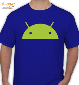 Android Head - T-Shirt