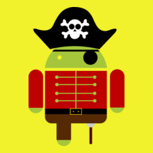 ANDROID Android-Pirate T-Shirt
