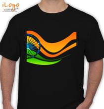 Indian Flag flag T-Shirt