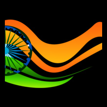 Indian Flag flag T-Shirt