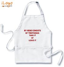 Popular Aprons leave-it T-Shirt