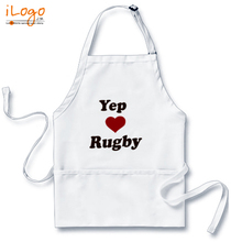 Popular Aprons yep-love-ruugby T-Shirt