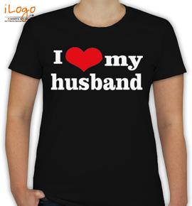I LOVE MY HUSBAND - T-Shirt [F]
