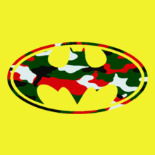 Batman christmas-camo T-Shirt