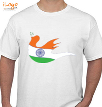 Indian Flag flag- T-Shirt