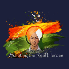 Indian Flag real-heroes T-Shirt