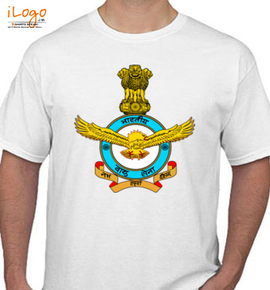 Indian-Air-Force-Official-Crest - T-Shirt