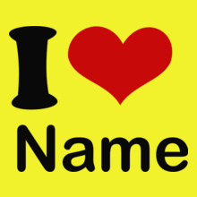 i-love-name T-Shirt