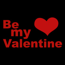 be-my-valentine-day- T-Shirt