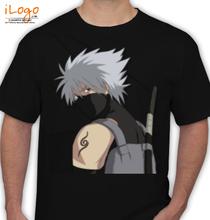 kakashi hatake Naruto-Tattoo T-Shirt