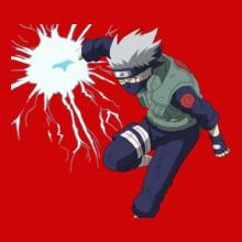 kakashi hatake lightning-blade T-Shirt
