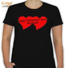 Valentine's Day happy-valentine-day-husband- T-Shirt