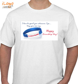 coolest buddy friendship band card - T-Shirt