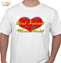 Friendship Day Worlds-Most-Awesome-Friend T-Shirt