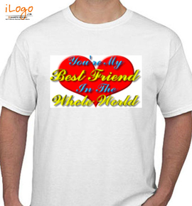 Worlds Most Awesome Friend - T-Shirt