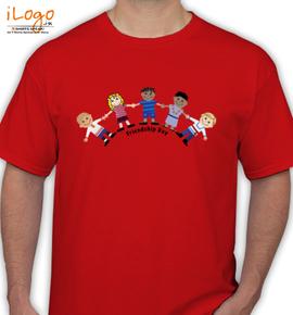 Worlds Friendship Day  - T-Shirt