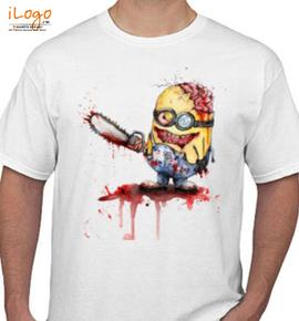 zombie killer minion - T-Shirt