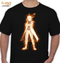 Naruto naruto-nine-tails T-Shirt
