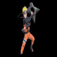 Naruto naruto-uzumaki-render T-Shirt