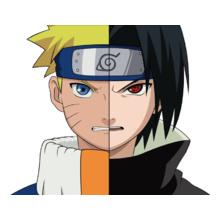 Naruto Naruto-vs-Sasuke T-Shirt