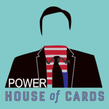 House of Cards POWER-HOUSE-BOF-CARDS T-Shirt