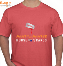 House of Cards HUNT-OR-TO-BE-HUNTED- T-Shirt