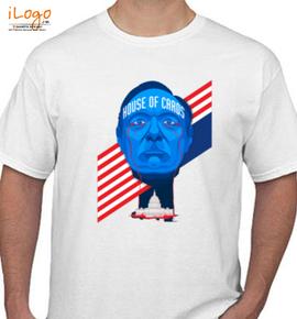 House of card fu - T-Shirt