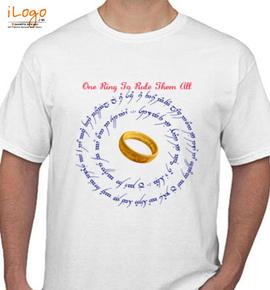 ring text - T-Shirt