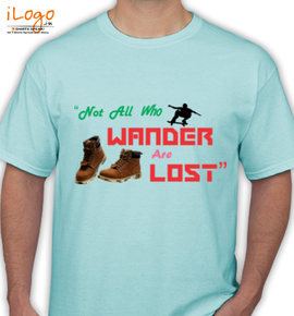 wonder or lost - T-Shirt