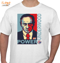 House of Cards POWER-HOUSE-OF-CARDS T-Shirt