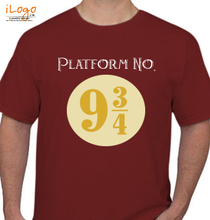 Harry Potter Platform-No.--and-/ T-Shirt