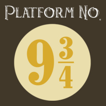 Harry Potter Platform-No.--and-/ T-Shirt