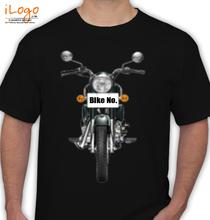Bike Numbered Royal-Enfield-Personalised T-Shirt