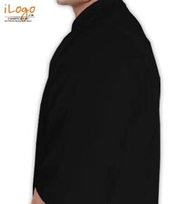 Black-Royal-Enfield-Personalised Left sleeve
