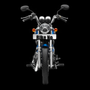 Blue-Royal-Enfield-Personalised