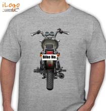 Bike Numbered Royal-Enfield-Personalised-bikers T-Shirt