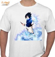 Sasuke Uchiha sasuke-anime-naruto T-Shirt