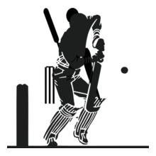 batsman T-Shirt