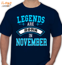 Legends are Born in November legend-are-born-in-november% T-Shirt