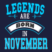legend-are-born-in-november% T-Shirt