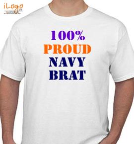 NAVY BRAT - T-Shirt