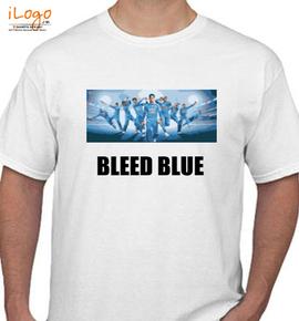 Bleed blue - T-Shirt