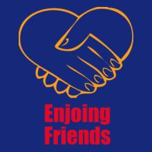 Friendship enjoying-friends T-Shirt