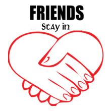 Friendship friends-in-heart T-Shirt