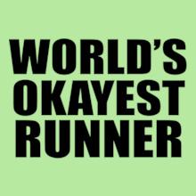 worlds-okayest-runner T-Shirt