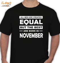 Legends are Born in November BEST-ARE-BORN-IN T-Shirt