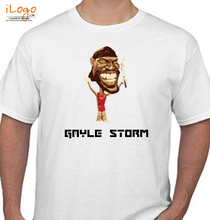 T20 World Cup Gayle-t T-Shirt