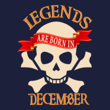 Legends are Born in December legends-are-born-in-December T-Shirt